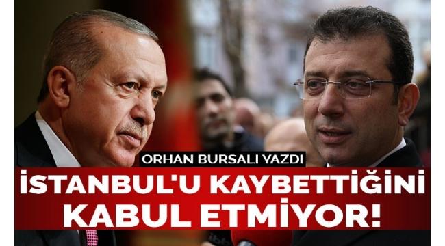 Cumhurbaşkanı kendini İstanbul'un da başkanı sanıyor