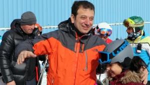 Ekrem İmamoğlu'nun kayak fotoğrafı yanlış oldu