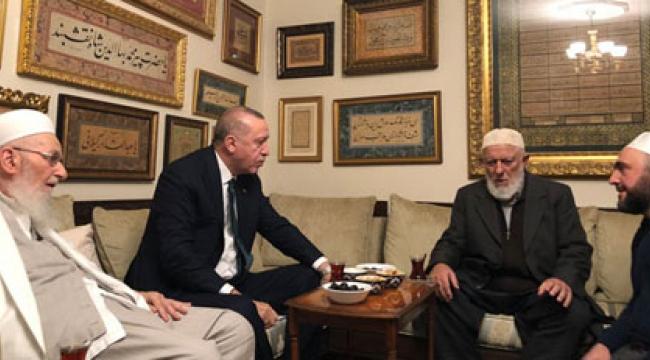 Erdoğan'dan dikkat çeken ziyaret