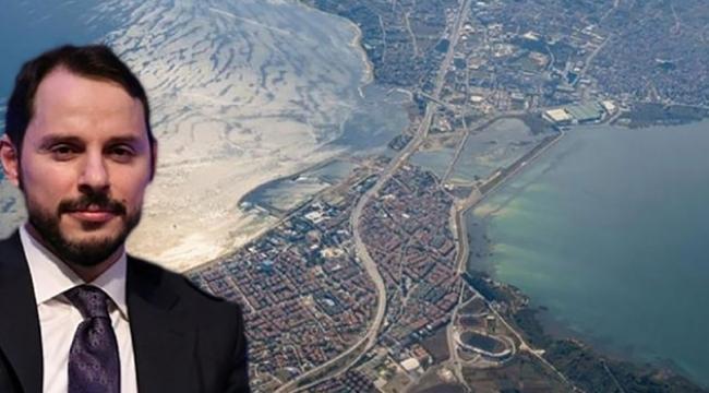 Kanal İstanbul güzergahındaki arsa Berat Albayrak'ın babasına ait