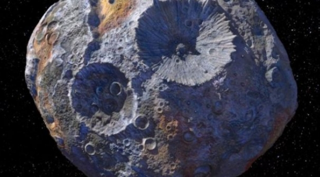 NASA astreoidde altın keşfetti!