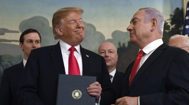 Trump tek taraflı Ortadoğu planını açıkladı
