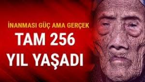 250 yıl yaşamanın sırrı