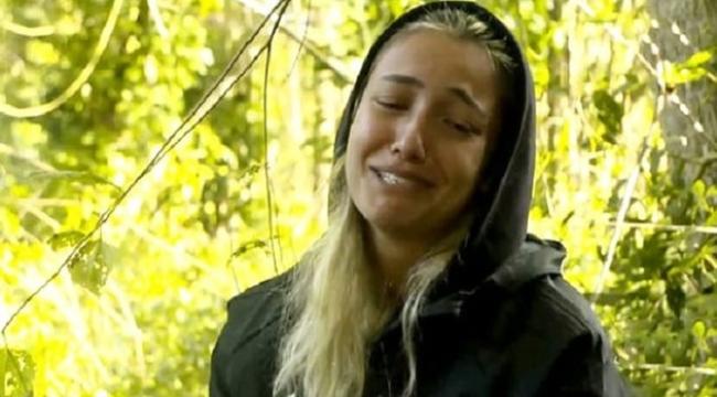 Açlığa dayanamayan Survivor yarışmacısı gözyaşlarına boğuldu