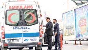 Ambulanslar böyle taksicilik yapıyor