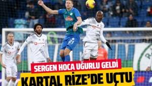 Çaykur Rizespor Beşiktaş karşısında maglup