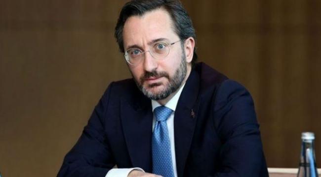 Cumhurbaşkanlığı İletişim Başkanı Altun: Rejimin bilinen tüm hedefleri ateş altına alınmıştır