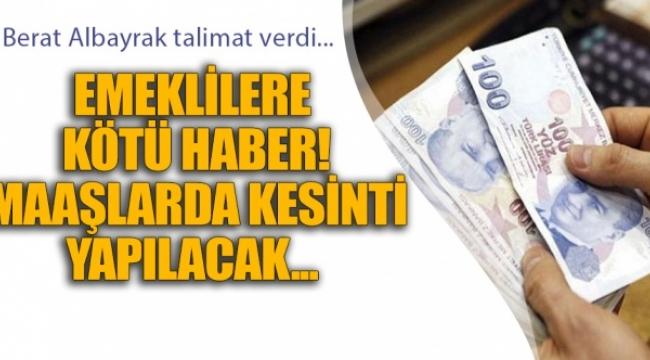 Emekli maaşlarından kesinti yapılacak, bayram ikramiyeleri kaldırılacak!