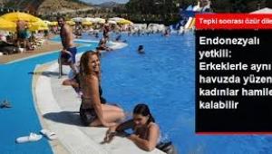 Erkeklerle aynı havuzda yüzen kadınlar hamile kalabilir