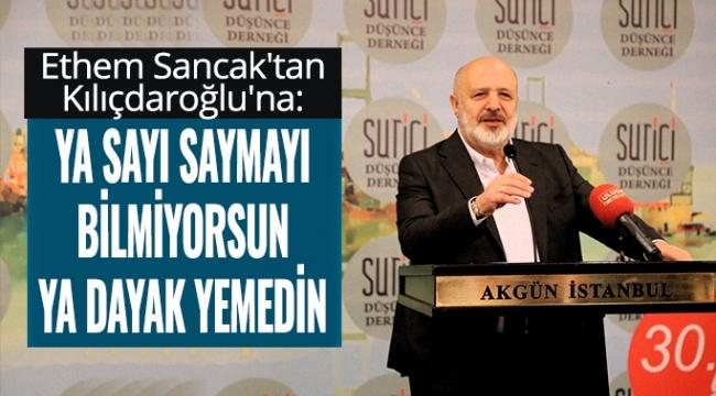 Ethem Sancak'tan Kılıçdaroğlu'na: Ya dayak yemedin
