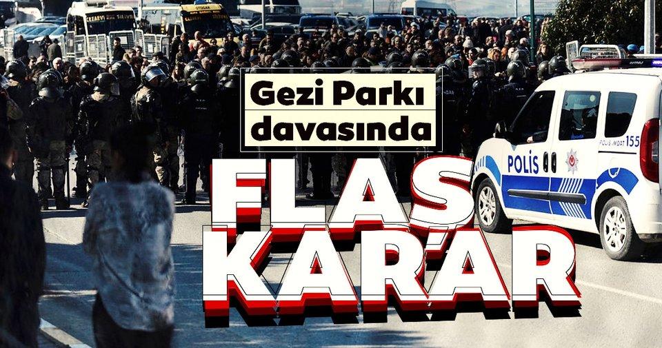Gezi Parkı Davası'nda karar