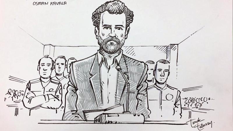 Kavala'nın beraat ettikten sonra tekrar gözaltına alınmasını dünya böyle okudu