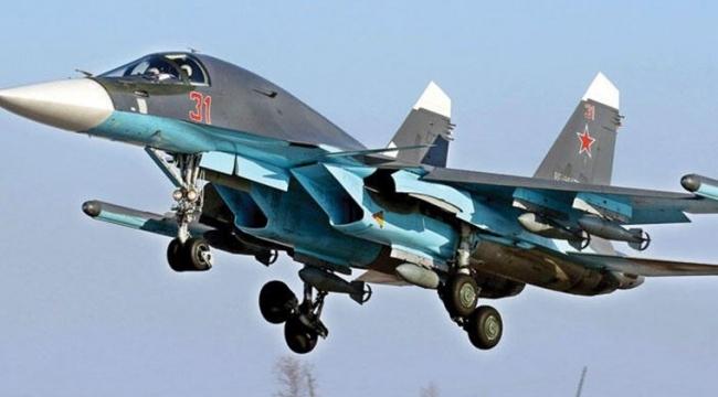Rus savaş uçakları, İdlib'de hava saldırısı düzenliyor