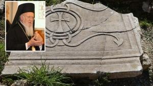 Sinop'ta Hz. İsa'nın çarmıha gerildiği haçı muhafaza eden taş sandık bulundu