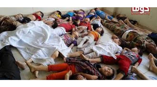 Suriye toplama kampı...
