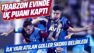 Trabzonspor Fenerbahçe'yi puansız yolladı 2-1