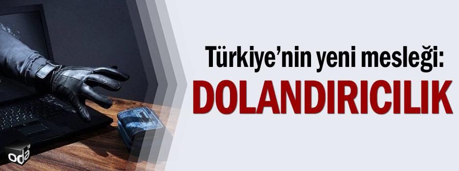 Türkiye'nin yeni mesleği: Dolandırıcılık
