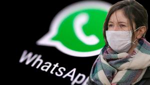 WhatsApp gruplarında maske için açık arttırma