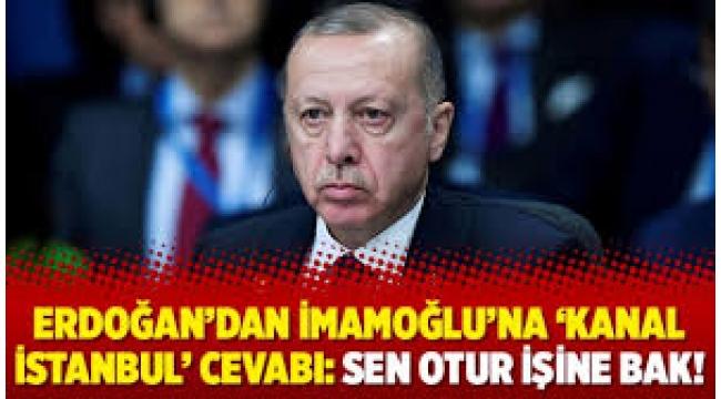 Bakanlıktan İmamoğlu'na Kanal İstanbul cevabı