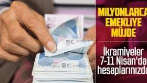 Emeklilerin ikramiyeleri 7-11 Nisan tarihleri arasında ödenecek