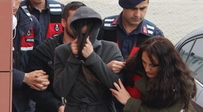 Emre Aşık'ın eşi cezaevi firarisiyle yakalandı