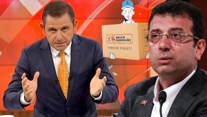 İBB'nin fahiş fiyattaki yardım kolisi Fatih Portakal'ı kızdırdı