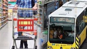 Market ve toplu taşıma araçlarıyla ilgili flaş karar!
