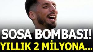 Trabzonspor'da Sosa gelişmesi! 2 milyon euroya...