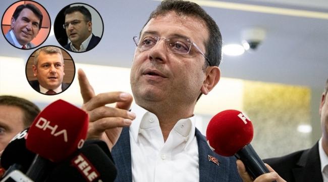 Ekrem İmamoğlu'ndan 3 gazeteciye suç duyurusu!