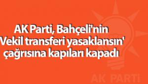 AK Parti, Devlet Bahçeli'nin