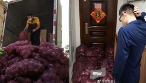Aldatan sevgilisine 1 ton soğan gönderd
