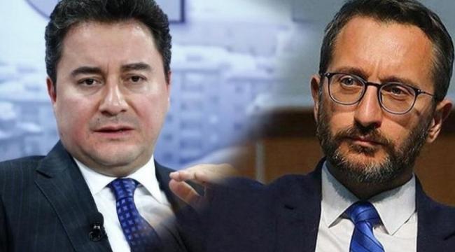Cumhurbaşkanlığı'ndan Babacan'a 'düşünce suçluları' yanıtı