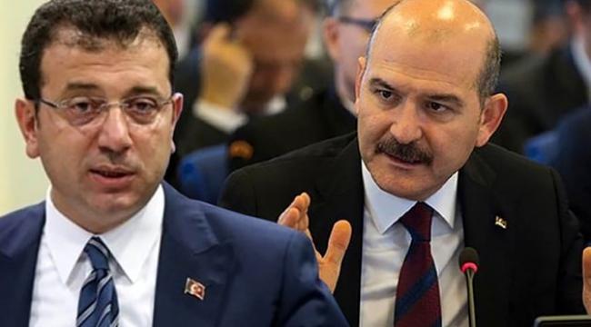 Ekrem İmamoğlu'ndan Süleyman Soylu hakkında suç duyurusu