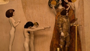 Gustav Klimt'in Canlanan Erotik Tabloları