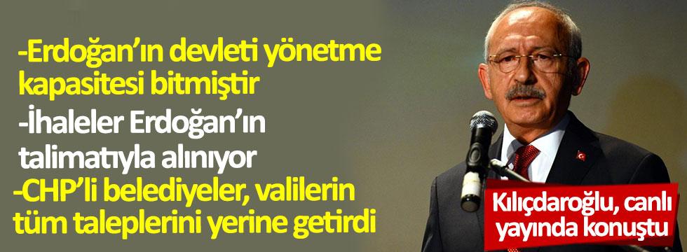 Kılıçdaroğlu...