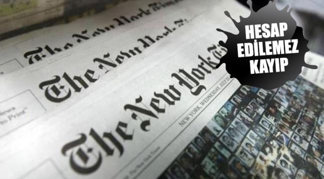 New York Times'tan çarpıcı corona manşeti! Liste sayfaya sığmadı