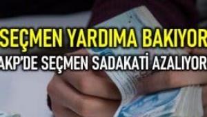 Seçmen yardıma bakıyor: AKP'de seçmen sadakati azalıyor!