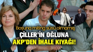 Tansu Çiller'in oğlu Berk Çiller'in Kilyos'taki arazisine özel imar