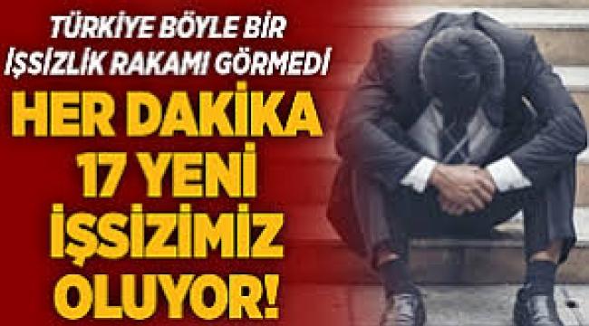 Türkiye böyle kötü ekonomi böyle işsizlik görmedi