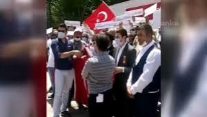 15 Temmuz gazileri ödenmeyen paraları için sokağa çıktı