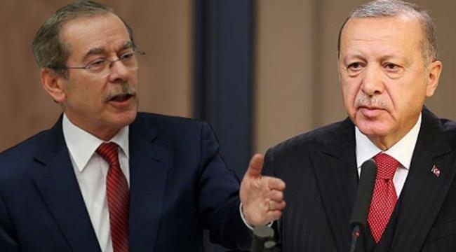 Abdüllatif Şener'den Erdoğan'a: Uzatma al onu ordan