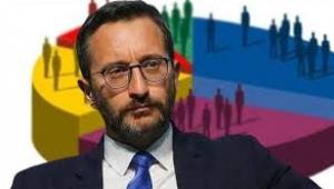 Fahrettin Altun AKP'yi düşük gösteren anketleri hileli ve sahte ilan etti