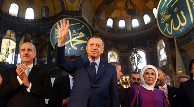 İşte AKP'nin Ayasofya anketinden çıkan sonuç!