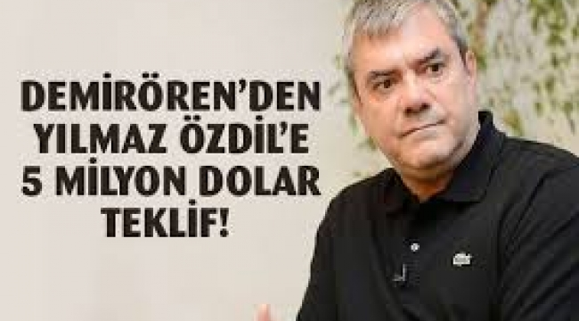 Yılmaz Özdil'e 5 Milyon Dolarlık teklifine çifte tanık!...