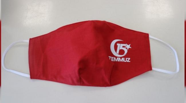 15 Temmuz'a özel maske üretildi