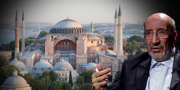Abdurrahman Dilipak'tan olay açıklama: Ayasofya açıldı diye...