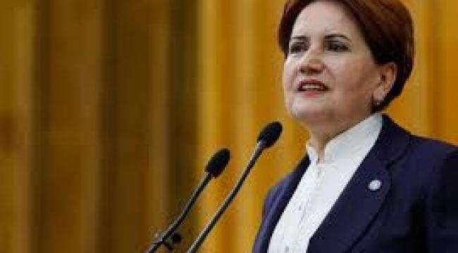 Akşener'den Ayasofya çıkışı: İbadete açılsın ama siyasete kapatılsın...