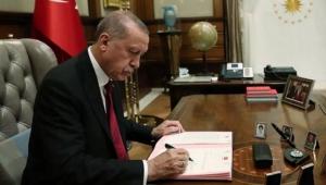 Erdoğan'ın imzasıyla yayınlandı! Flaş atama kararı!