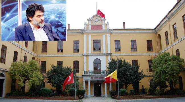 Galatasaray Lisesi, bizim inancımızda, örfümüzde olmayan bir sistemle kurulan okuldur