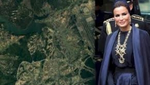Katar Emiri'nin annesine Kanal İstanbul piyangosu
